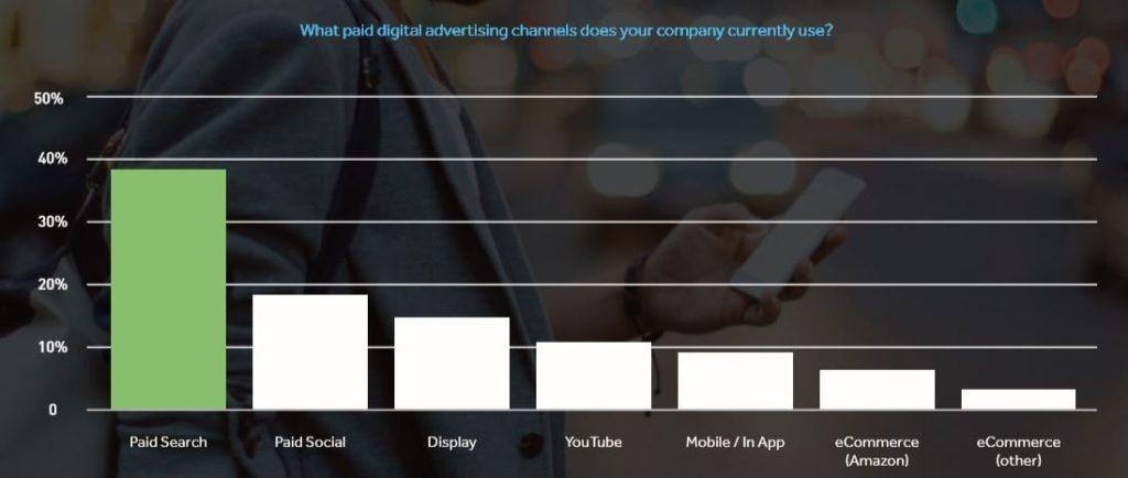 Paid digital media