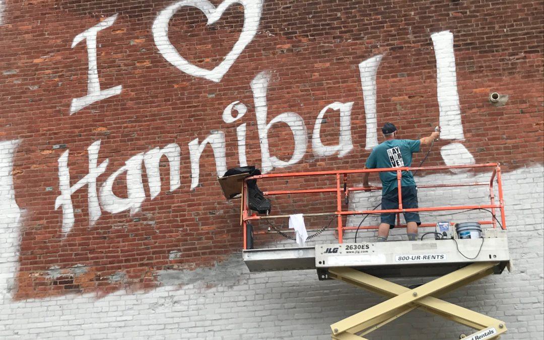 I love this Hannibal mural.